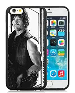 walking dead (2) Black TPU Case for iPhone 6 (4.7),Prefectly fit and directly access all the features