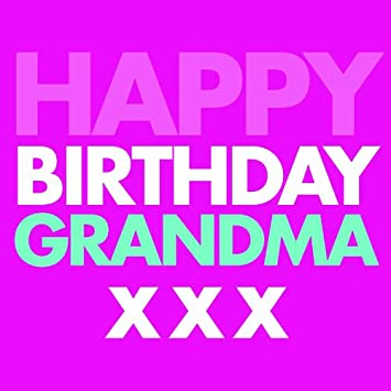 Bluebell 33 Message Sent Grandma Birthday Greeting Card Amazoncouk Office Products