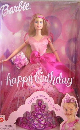 Barbie Happy Birthday Doll w Tiara for You! (2002)