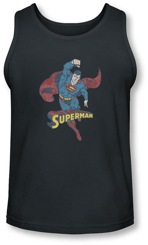 Dco - Mens Desaturated Superman Tank-Top