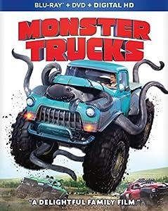 Cover Image for 'Monster Trucks [Blu-ray + DVD + Digital HD]'