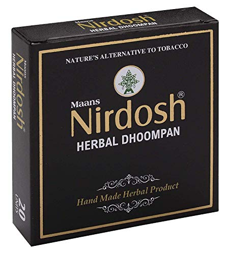 Naryani Pharmacy Herbal Dhoompan || With Export Quality || Pack Of 3 X 20 Sticks || New Packing || Breath Freshner