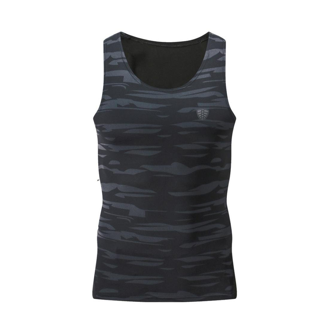 OVERDOSE Mä nner Training Fitness Sport Gym Running Yoga Athletisch Shirt Top Bluse Tank Weste OverDose women Feb.22