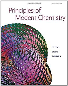 Principles of Modern Chemistry - Student Solution Manual 6TH EDITION