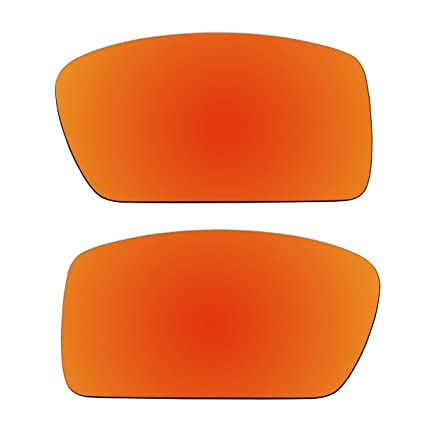 45281986e1 Amazon.com   ACOMPATIBLE Replacement Fire Red Polarized Lenses for Oakley  Gascan (Asian Fit) Sunglasses   Sports   Outdoors