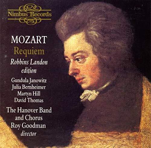 Mozart: Requiem / Goodman, The Hanover Band