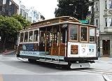 San Francisco Fisherman's Wharf Streetcar - Easy Stick Vinyl Wall Art Decal