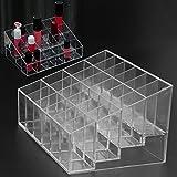 Storage Box - Acrylic 24 Grids Organizer Lipstick