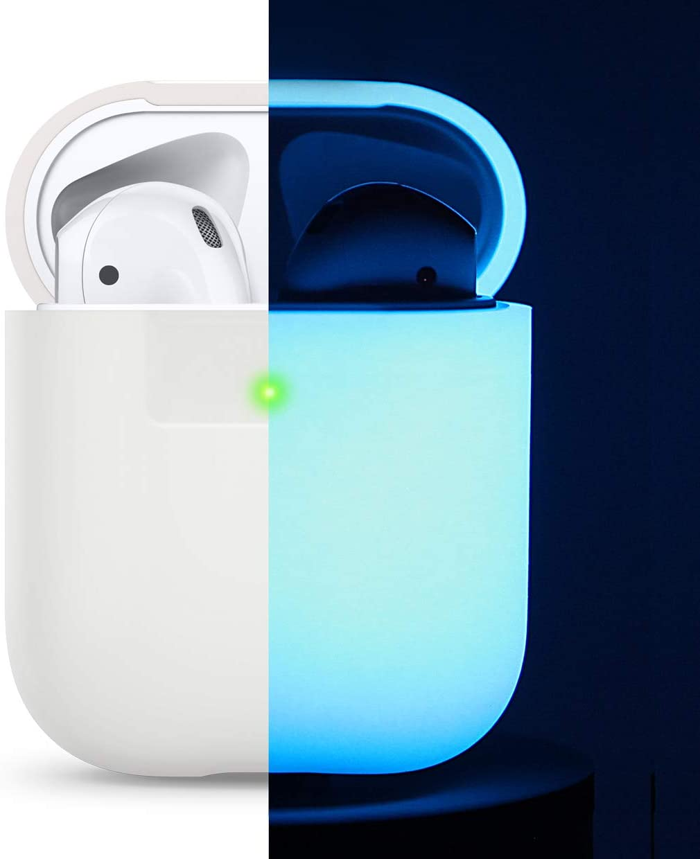 elago Funda Silicona Compatible con Apple AirPods 1 & 2 (LED ...
