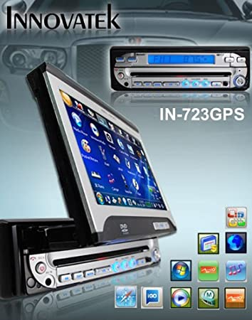 Innovatek In 723gps All In One In Dash Car Dvd Player