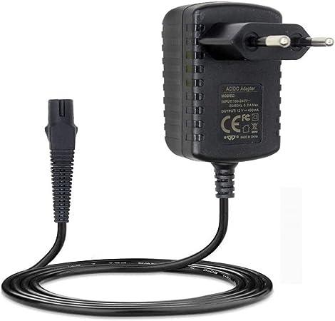 4G-Kitty 12V 400mA Fuente de alimentación Cargador para afeitadora para Braun Series 3 5 7 9 5030s 3040s 390cc 5190cc 5040S 7865cc Afeitadora eléctrica: Amazon.es: Electrónica