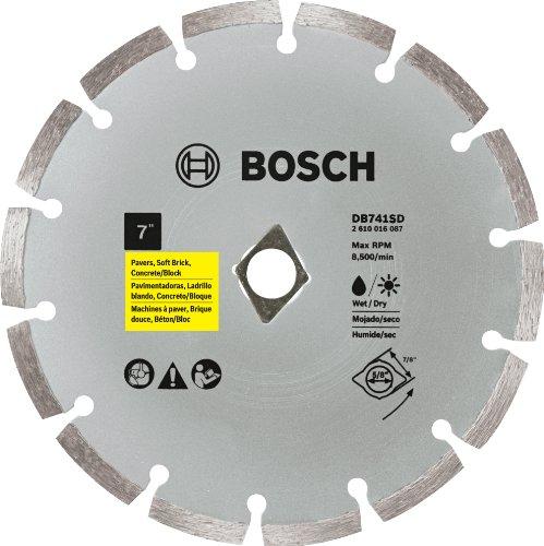 (Bosch DB741SD 7-Inch Segmented Rim Diamond Blade (with Dko))