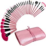 Best Contour Brush For Powder Creams - Best Professional Makeup Brushes Set - 24 Pc Review