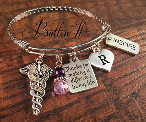 Nurse preceptor gift, clinical instructor gift, Nurse thank you gift, Nurse graduation gift, RN jewelry, Inspirational, PRECEPTOR nursing gift,