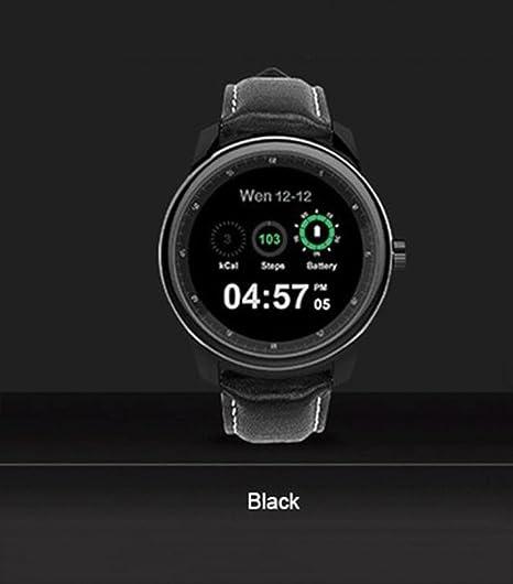 Smart Watch Round Podómetro con Tarjeta TF Card Slot ...