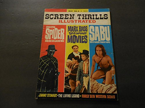 Screen Thrills Illustrated May 1964 #8 Marx Bros; Sabu;Sinister Spider