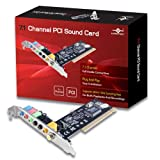 Vantec 7.1 Channel PCI Sound Card UGT-S100