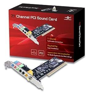 Vantec 7.1 Channel PCI Sound Card (UGT-S100)
