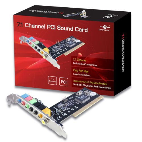 Vantec 7.1 Channel PCI Sound Card (UGT-S100)