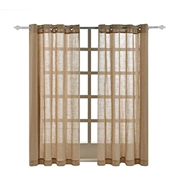 curtains panel panels window in bed from curtain bath beyond inch linen buy top sheer elrene grommet melody
