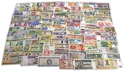 20 Pcs Collection of Assorted World Banknotes All Collectibles all UNC