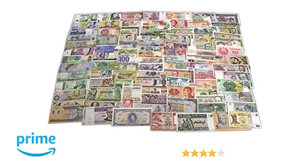 UNC Free shipping Currency 50 PCS of Different World MIX Foreign Banknotes Lot