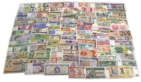 (World Banknotes Collection - 50 Pieces of 50 Different World Countries - Foreign, Currency, Uncirculated )