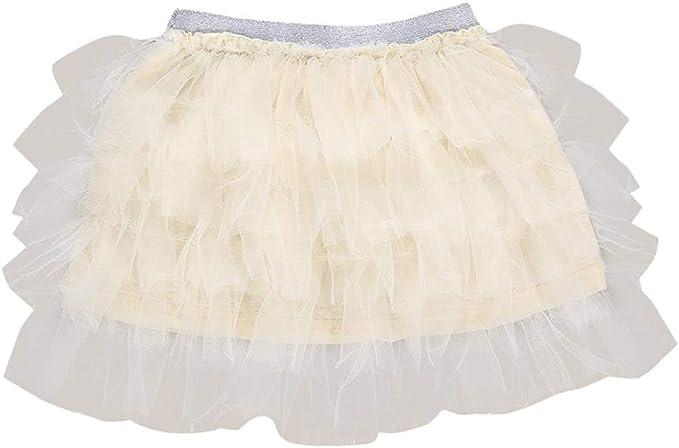 POIUDE - Mini Falda de Tul para niños y niñas, tutú, tutú, tutú ...