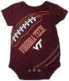 Virginia Tech Hokies Fanatic Bodysuit Onesie Creeper 3-6 Months