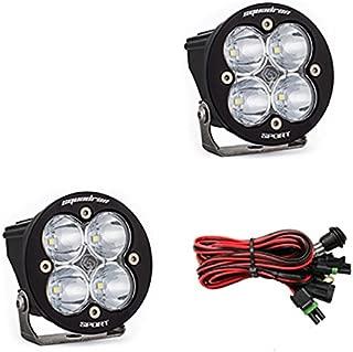product image for Baja Designs Squadron-R Sport Pair ATV LED Light Flood Work Pattern