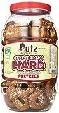 Utz Old Fashioned Sourdough Hard Pretzels Barrel, 28 Ounce