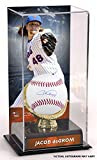 Jacob deGrom New York Mets Autographed Baseball and Gold Glove Display Case with Image - Fanatics Authentic Certified