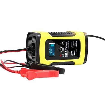 Automotriz Trickle batería cargador mantenedor 6A 12V 5-paso de ...