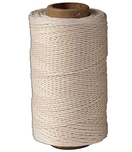 Linen Thread (Tandy Leather Unwaxed Linen Thread 280 yards (256 m) Natural 1207-11)
