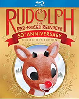 rudolph the red nosed reindeer 50th anniversary blu ray