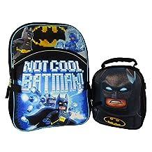 DC Comics Batman Backpack & Lunch Bag Set