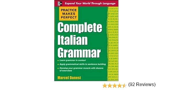 Amazon.com: Practice Makes Perfect: Complete Italian Grammar ...