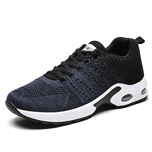 AOOCL Air Cushion Running Shoes Lightweight Breathable Sneaker Walking Shoe 13 D(M) US Men Blue (Barados)
