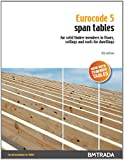 Eurocode 5 Span Tables for solid timber members in floors, ceilings and roofs for dwellings