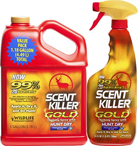 Wildlife Research Gold 1 Gallon Re-Filler Combo Scent Killer ()