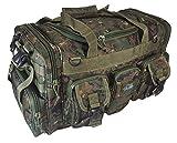 Nexpak 22'' 2600cu.in Tactical Duffel Range Bag TF122 DMBRN Digital Camouflage - Brown