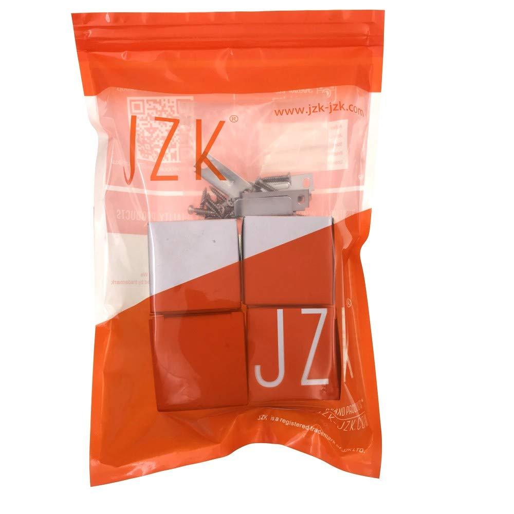 JZK 4 Pezzi serratura a cilindro per cassetto cassettiera scrivania con chiavi diverse serratura per anta armadietto armadio cucina guardaroba