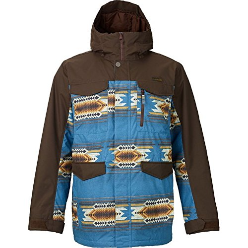 Burton Men's MB Covert Jacket Hickory/True Black Outerwear SM
