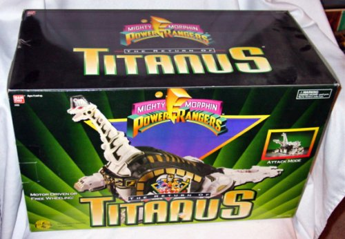 Mighty Morphin Power Rangers The Return of Titanus Action Figure (Mighty Morphin Power Rangers Zords)