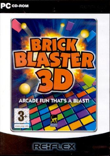 Brick Blaster 3D (PC-CD) Arcade Fun That's a Blast!
