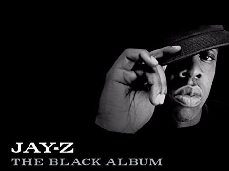 """Jay-Z The Black Album poster wall art home decor photo print 24/"""" x 24/"""" inches"""
