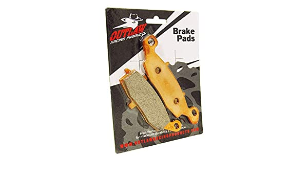 Outlaw Racing Or357 Front//Rear Sintered Brake Pads