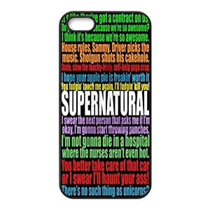Funny SPN Supernatural Quotes Hard Rubber Phone Cover Case for iPhone 6 4.7,6 4.7 Cases