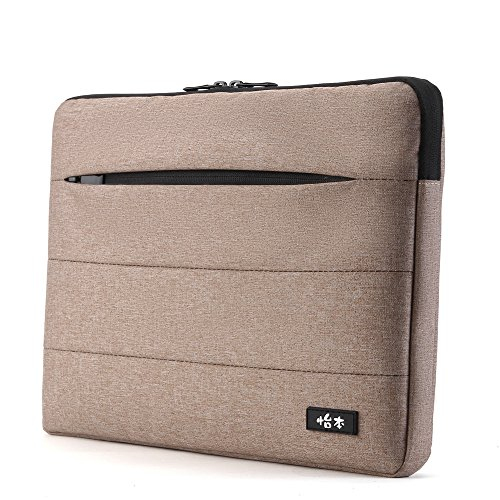 Plush Lining - COOSKIN Waterproof shakeproof plush lining Laptop Sleeve Case for 13.3 Inch Laptop / Notebook Computer / MacBook Pro / MacBook Air -Khaki