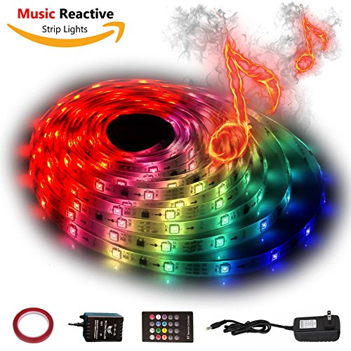 10M Multi Coloured Led Rope Lights